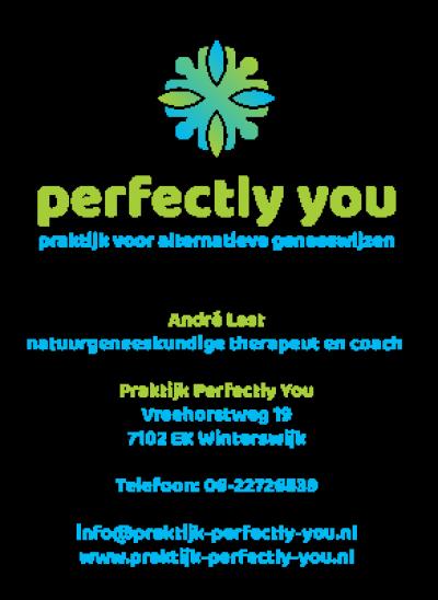 Logo Praktijk Perfectly You, praktijk voor natuurgeneeskundige geneeswijzen en coaching